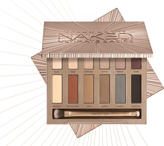 Нюдовая палетка Naked ultimate basics от Urban Decay