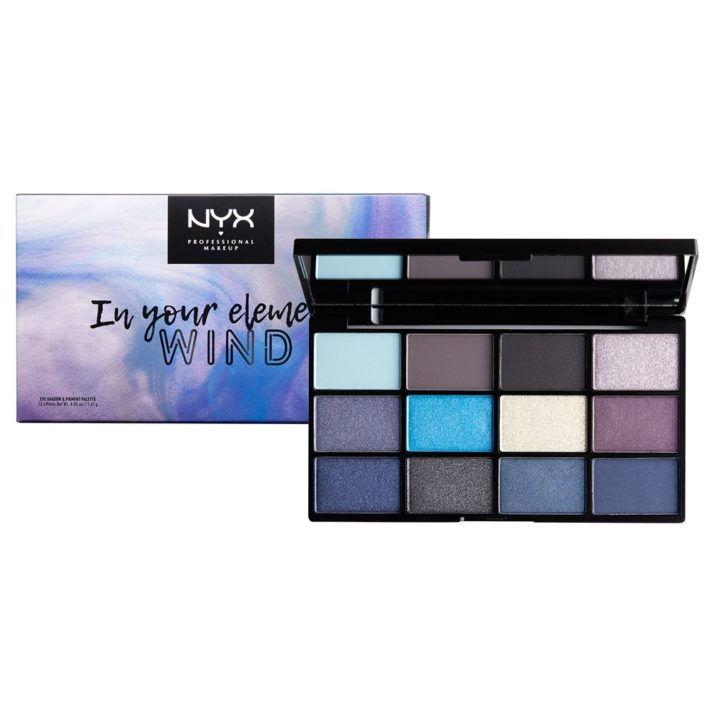 Палетка In Your Element Shadow Palette Wind от NYX