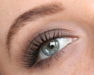Дневной макияж в серых тонах