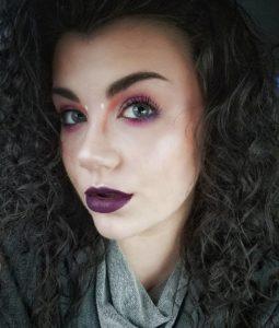 Необычный макияж с палеткой теней In Your Element Palette Air от NYX