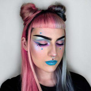 Экстравагантный макияж с палеткой теней In Your Element Palette Air от NYX