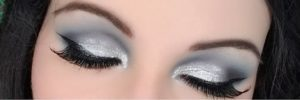 Серебристый макияж с палеткой In Your Element Shadow Palette Wind от NYX