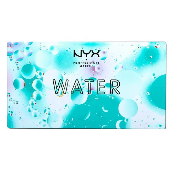 Палетка теней In Your Element Shadow Palette Water от NYX