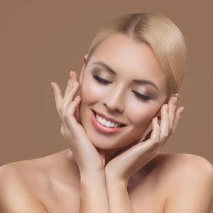 Золотистый макияж на 8 марта