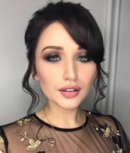 Чувственный макияж на 8 марта для серых глаз
