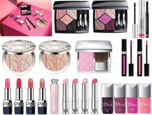 Весенняя коллекция макияжа Glow Addict Makeup Collection Spring 2018 от Dior