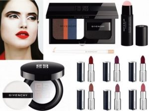 Весенняя коллекция макияжа Couture Outlines Makeup Collection Spring 2018 от Givenchy