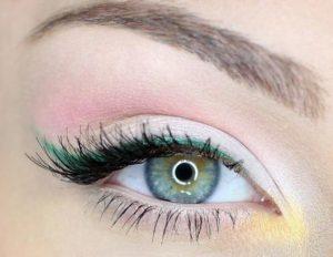 Нежный весенний макияж глаз