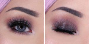 Макияж для серых глаз с палеткой Love you so Mochi Eyeshadow Palette Sleek and Chic от NYX