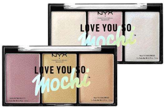 Обзор Love You So Mochi Highlighting Palette от NYX