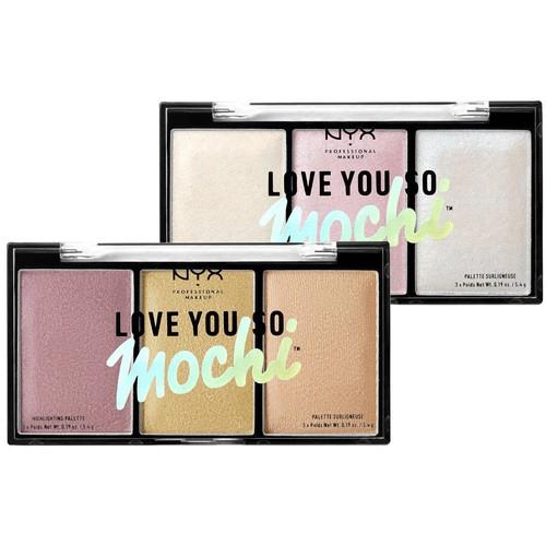 Хайлайтер Love You So Mochi Highlighting Palette от NYX Professional Makeup