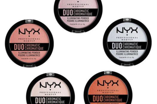 Обзор хайлайтеров Duo Chromatic Illuminating Powder от NYX