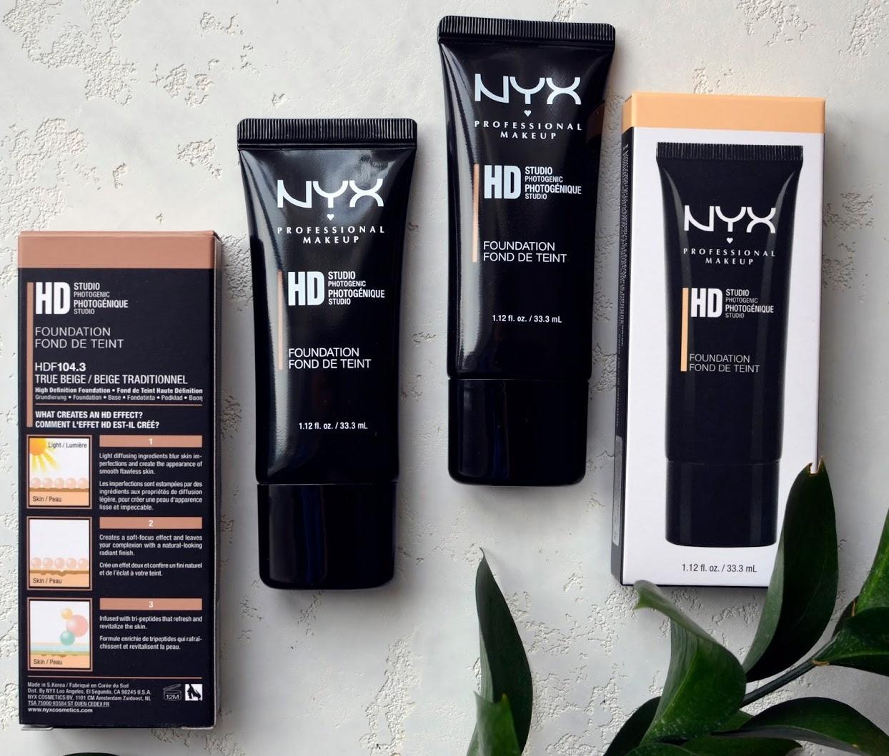 Тональная основа для макияжа HD Studio Photogenic Foundation от NYX
