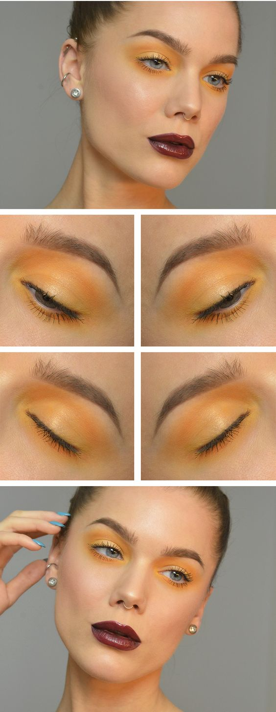 Образ с желтыми тенями