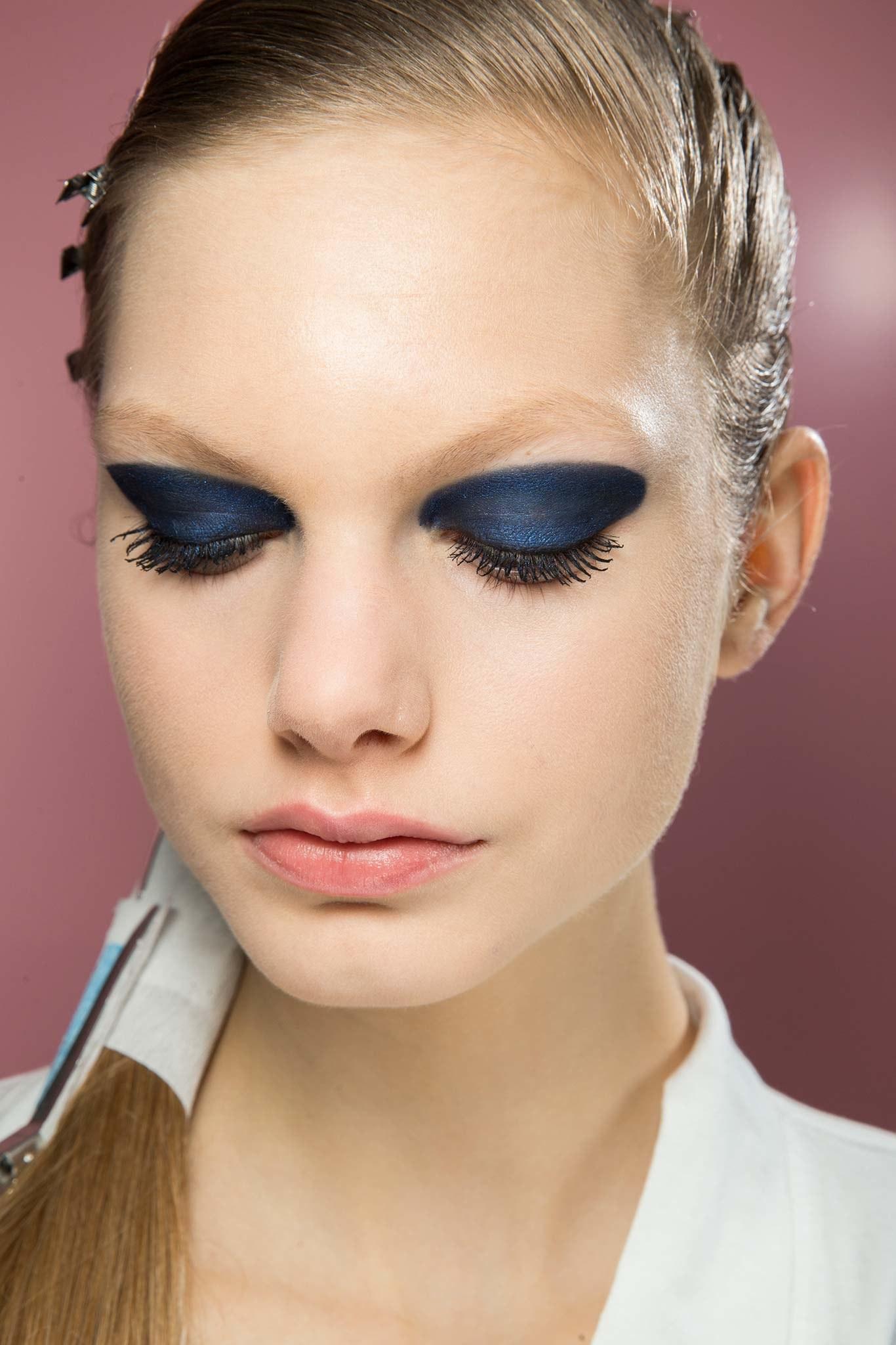 Color blocking в макияже глаз