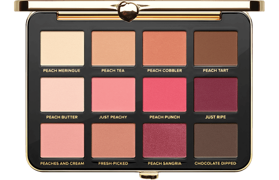 Палетка теней Just Peachy Mattes от Too Faced