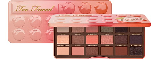 Палетка теней Sweet Peach от Too Faced