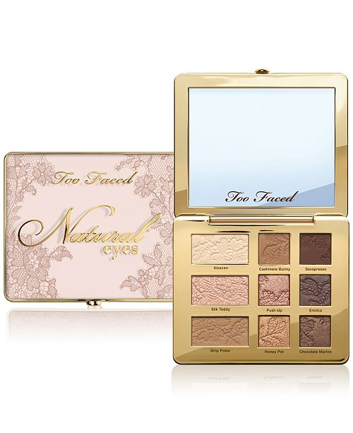 Палетка теней Too Faced Natural Eyes