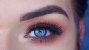 Фото макияжа палеткой Sweet Peach от Too Faced
