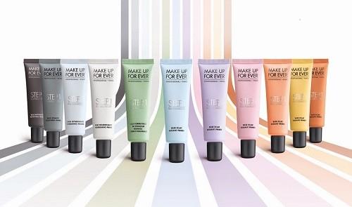 Цветные базы под макияж от Make Up For Ever