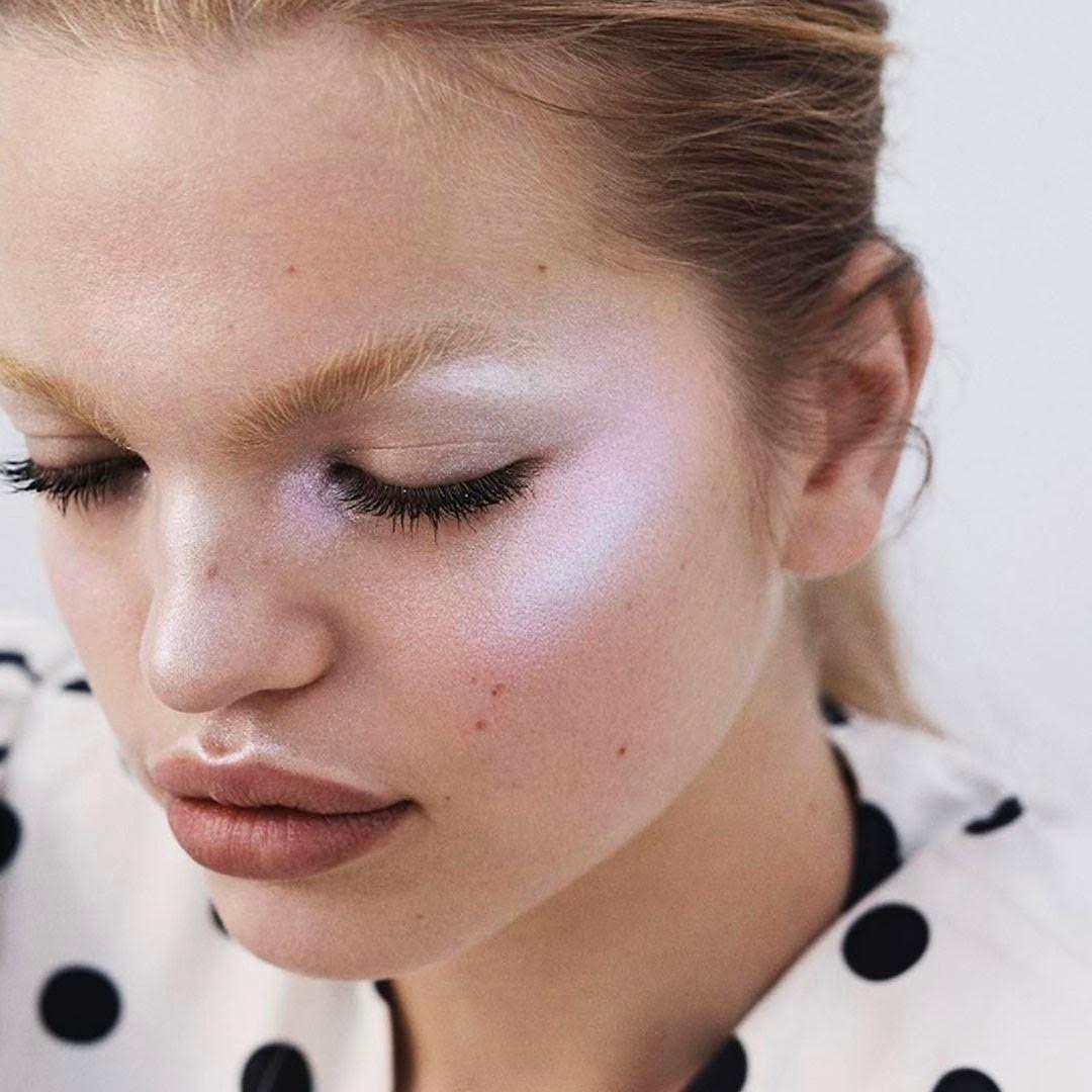Хайлайтеры-дуохромы в макияже