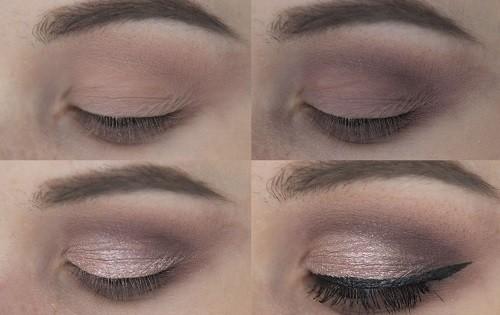 макияж с палеткой Huda Beauty Mauve Obsessions