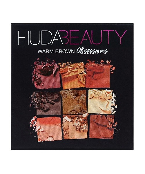 Huda Beauty Warm Brown Obsessions обзор палетки
