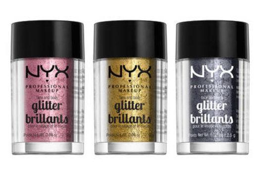 Nyx Face & Body Glitter Brilliants – обзор + свотчи оттенков