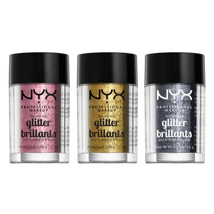 NYX Face & Body Glitter Brilliants обзор