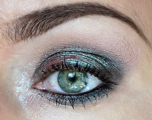 макияж с пигментами Inglot