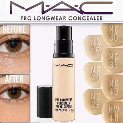 MAC Pro Longwear Concealer эффект