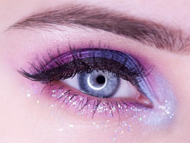 макияж с Nyx Face & Body Glitter Brilliants
