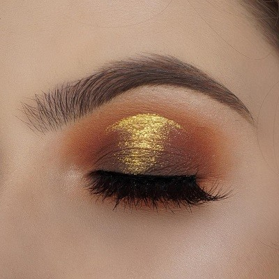 макияж с пигментами NYX