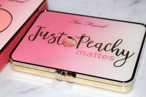 Too Faced Just Peachy Mattes обзор