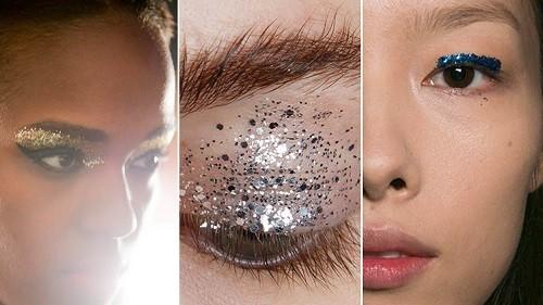 Что такое глиттеры для макияжа глаз