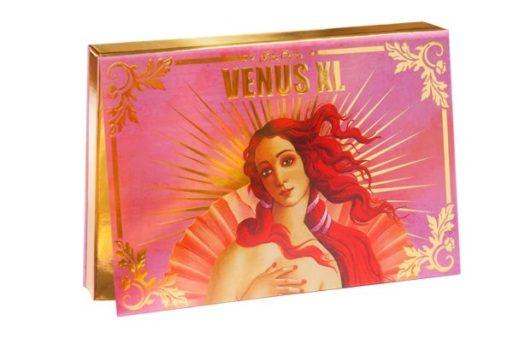 Обзор палетки теней Venus XL от Lime Crime в розовых оттенках