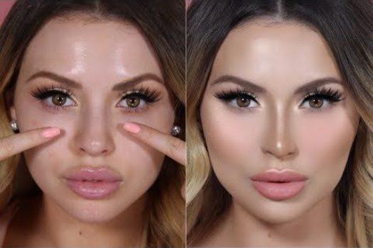 Коррекция носа при помощи макияжа: пошаговый урок контуринга носа