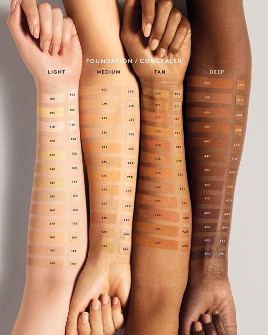 fenty beauty foundation shades
