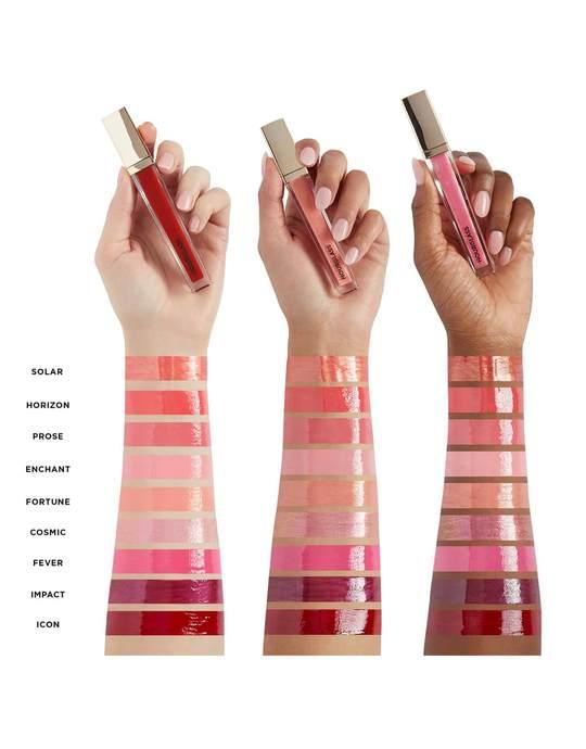 Hourglass Unreal High Shine Volumizing Lip Gloss shades 2