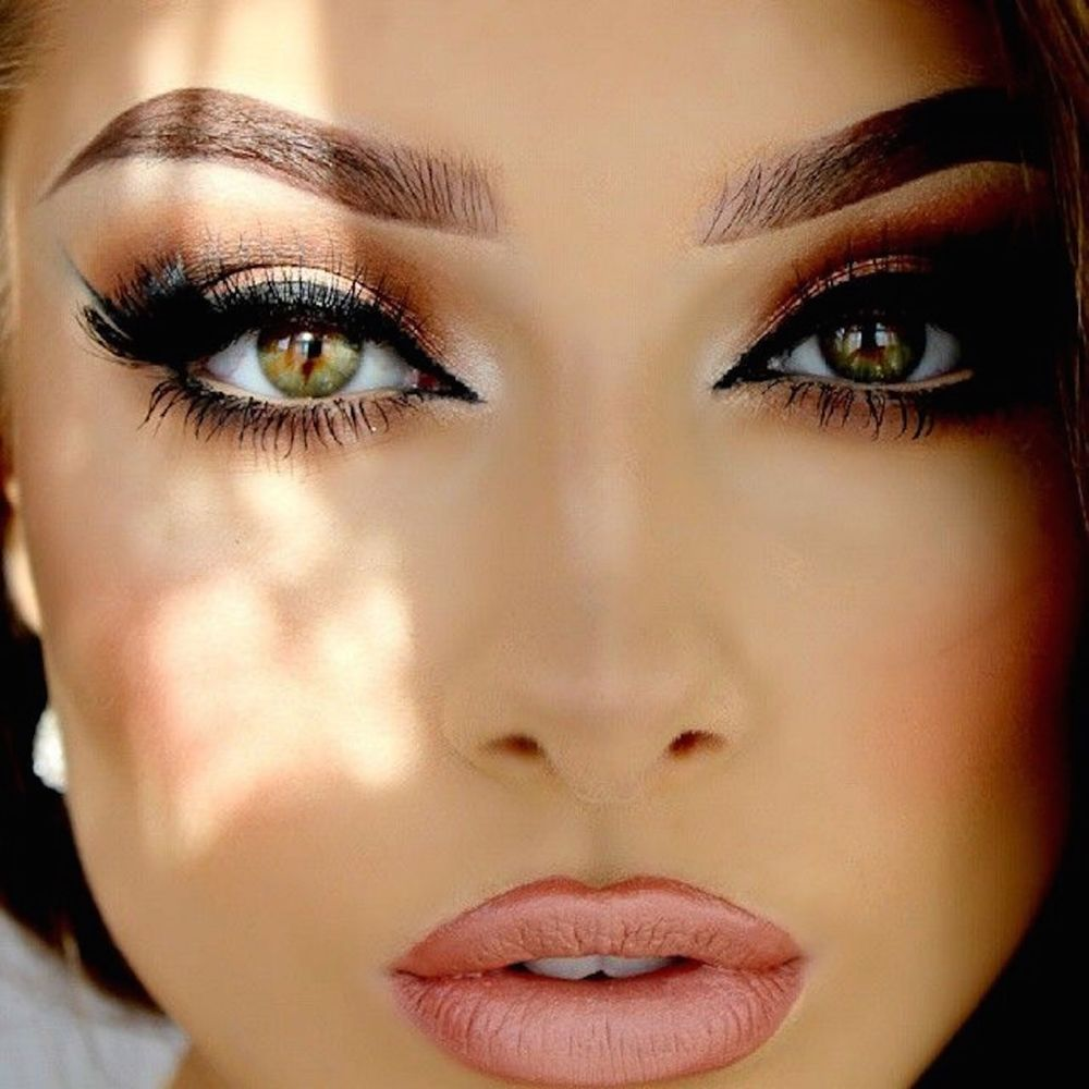 Как с помощью макияжа сделать глаза больше