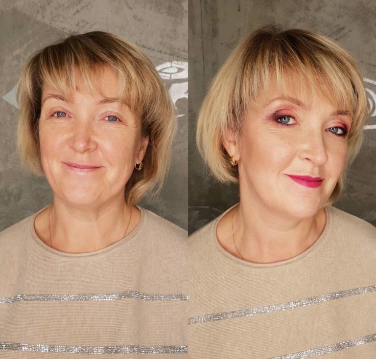 Возрастной макияж для женщин старше 40: пошаговое фото