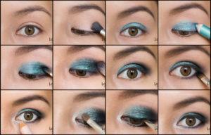 Красивый макияж глаз: пошаговое руководство с фото