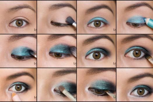 Макияж  для карих глаз: 30 стильных идей, пошаговые руководства+фото
