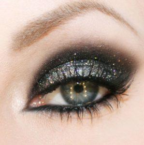 Макияж глаз для блондинок с серыми глазами