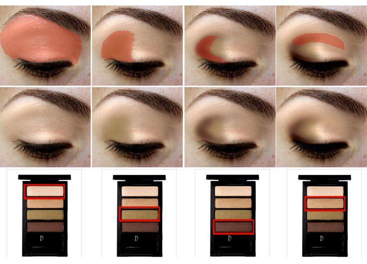 Золотой макияж: как сделать+фото