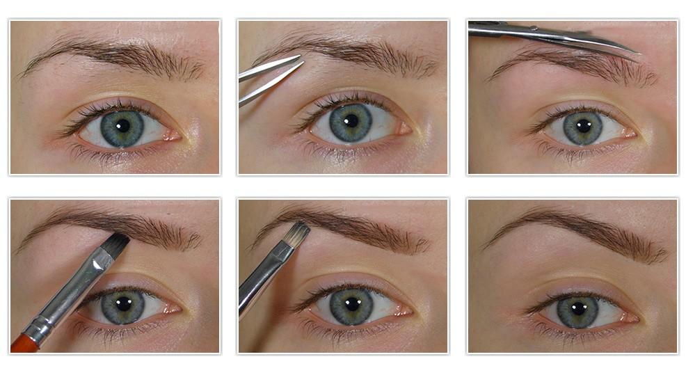 Форма бровей: какая подходит для разных типов лица