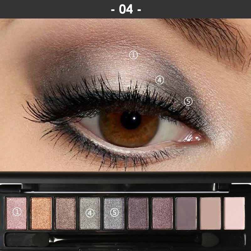 Вечерний макияж для карих глаз: пошаговое руководство+фото