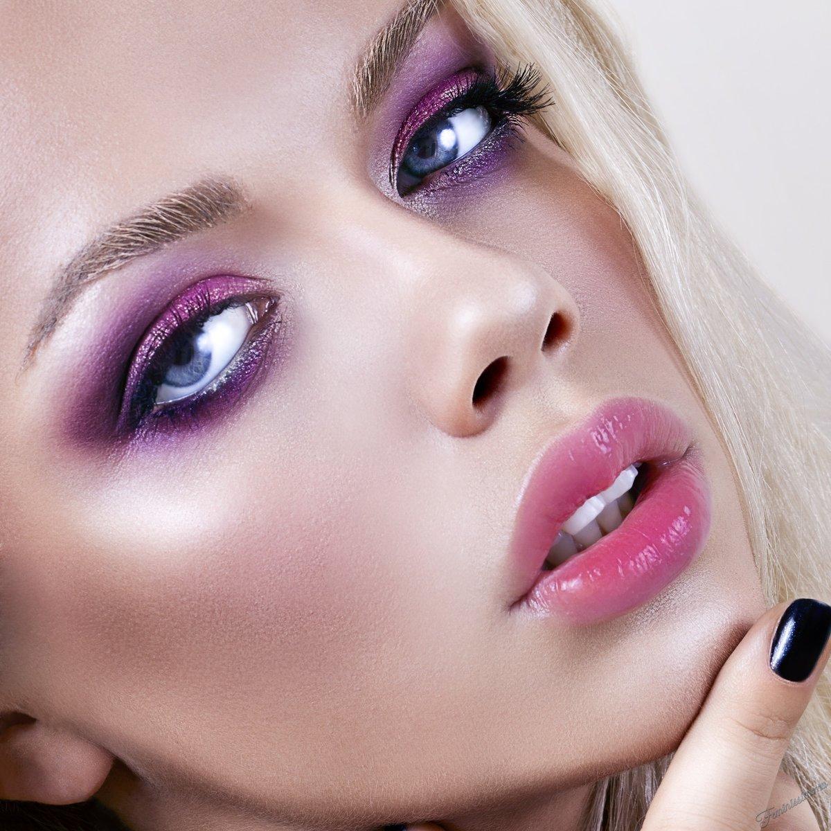 Макияж глаз для блондинок: для голубых, серых и зеленых глаз+фото