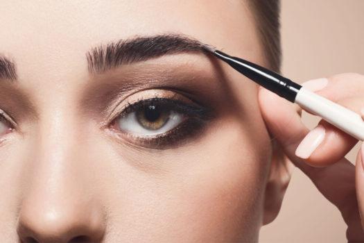 Как красить брови тенями для начинающих: пошагово с видео и фото
