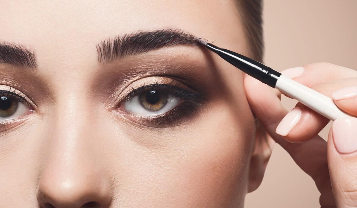 Как правильно красить брови в домашних условиях для начинающих: пошагово с фото и видео